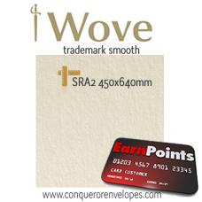 Wove Cream SRA2-450x640mm 300gsm Paper